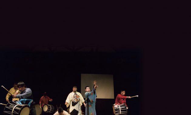 自然薯クラブ 創作田楽舞 練習の様子