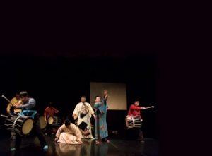 自然薯クラブ 創作田楽舞の練習の様子