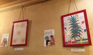 新宿ベルクで開催中ジムネットの絵画展