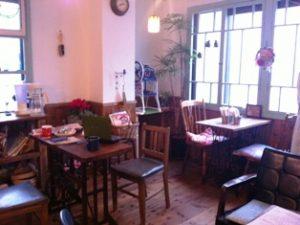 カフェいと店内の様子