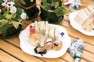ガーデンカフェの食事