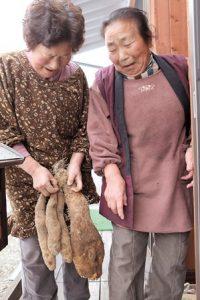 飯舘村の2人の母ちゃん