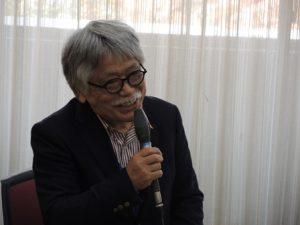前田氏。『のんびる』の編集長