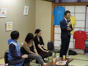トークセッションのメンバー4人