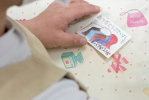 ぷかぷかメンバーさんたち手書きの「ありがとうカード」